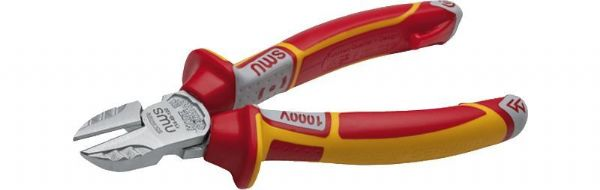 NWS 160mm Tri Side Cutter Plier VDE 1000v Electricians Wire Snips Diagonal
